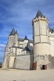 Saumur城堡,法国 图库摄影
