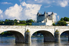 Saumur Royalty Free Stock Photos