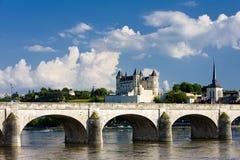 Saumur Royalty Free Stock Image