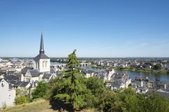 Saumur Royalty Free Stock Photography