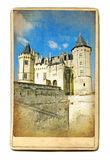 Saumur castle Royalty Free Stock Photography