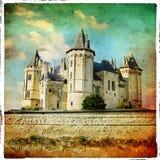 Saumur castle Stock Images