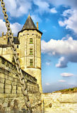 Saumur castle Stock Photo