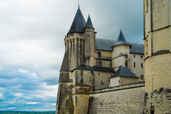 Saumur castle Royalty Free Stock Image