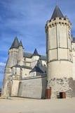Saumur Castle, France Stock Photo