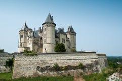 Saumur Castle Stock Photo