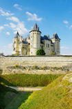 Saumur castle -loire valley Stock Photography