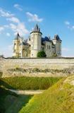 Saumur castle -loire valley Stock Photography