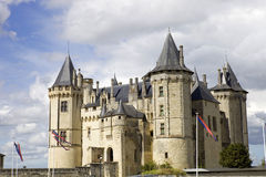 Saumur castle Stock Photography