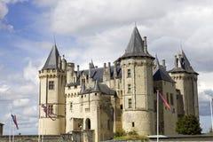 Saumur castle Stock Photography