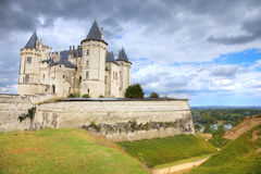 Saumur Chateau, France Royalty Free Stock Photo
