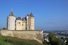Saumur kasztel, Francja zdjęcie stock