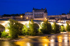 Amboise france Stock Photo
