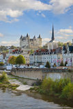 Saumur, Pays de la Loire, Γαλλία Στοκ εικόνες με δικαίωμα ελεύθερης χρήσης
