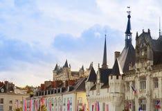 Saumur, Pays-de-la-Loire, Γαλλία Στοκ Φωτογραφίες