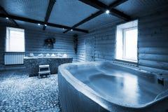 sauna деревянный стоковое фото rf