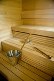 sauna Финляндии Стоковое фото RF