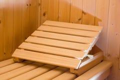 sauna Stockfoto