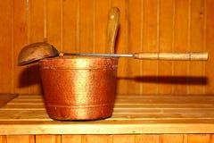 Sauna stock afbeeldingen