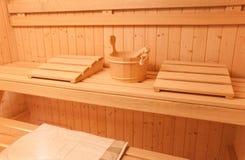 Sauna Photographie stock libre de droits