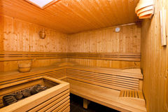 Sauna Fotos de archivo