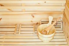 Sauna Image libre de droits