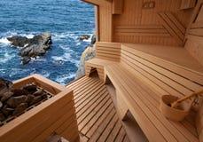 sauna Стоковое Изображение RF