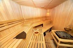Sauna Immagine Stock