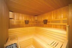Sauna Imagen de archivo libre de regalías
