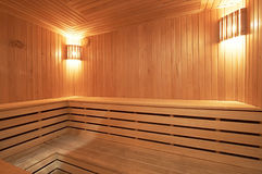 Sauna Stock Photo