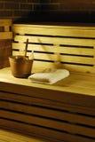 Sauna Fotografia Stock Libera da Diritti