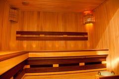 Sauna Royalty-vrije Stock Afbeeldingen