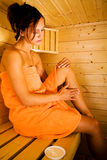 Sauna 3 Royalty Free Stock Images