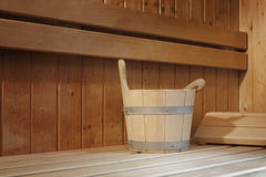 Sauna Photo stock