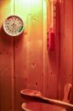 sauna Imágenes de archivo libres de regalías