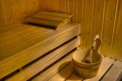 Sauna Photo libre de droits
