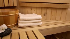 sauna stock footage