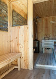 sauna Obrazy Royalty Free