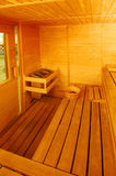 In sauna Stock Photos