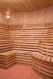 Sauna. Interrier of sauna Royalty Free Stock Photography