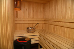 sauna Stock Photography