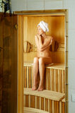 sauna Fotografia Royalty Free