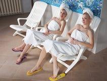 After sauna Stock Photos