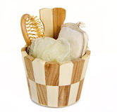 Sauna accessories Royalty Free Stock Image