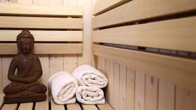 Sauna stock video
