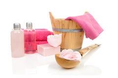 sauna akcesoryjny zdrój obrazy stock