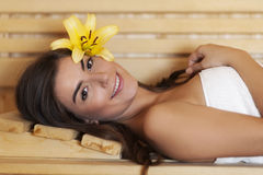 Sauna Royalty Free Stock Photography