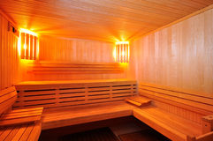 Sauna Cabin Stock Photography