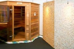 Sauna cabin royalty free stock image