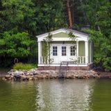 Sauna cabin Stock Photo